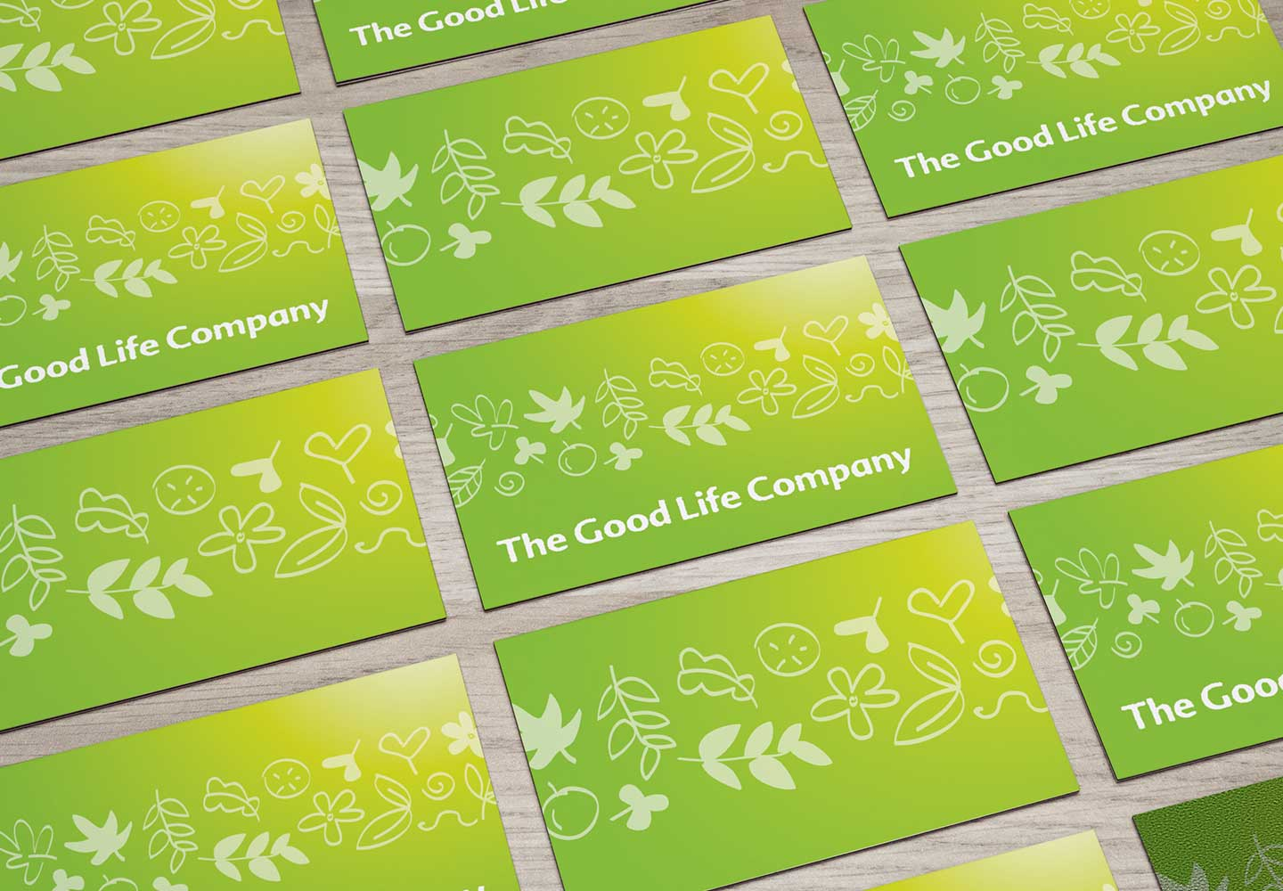 Brand Consultancy in FMCG Industry. Business Card for Allswell.