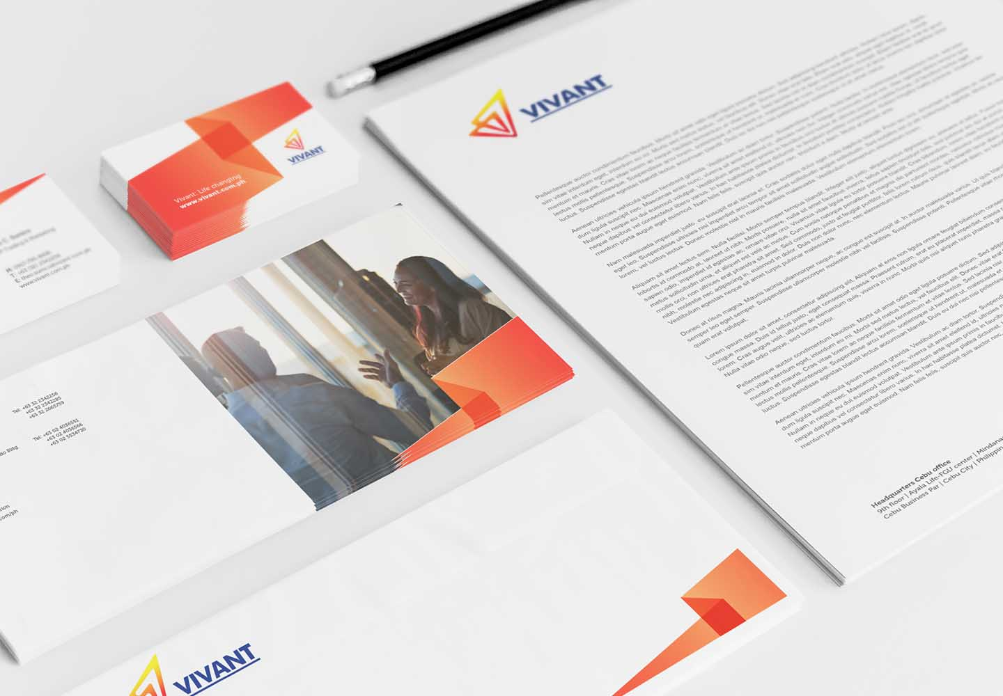 Brand Consultancy in Energy Industry. Corporate Identity for Vivant